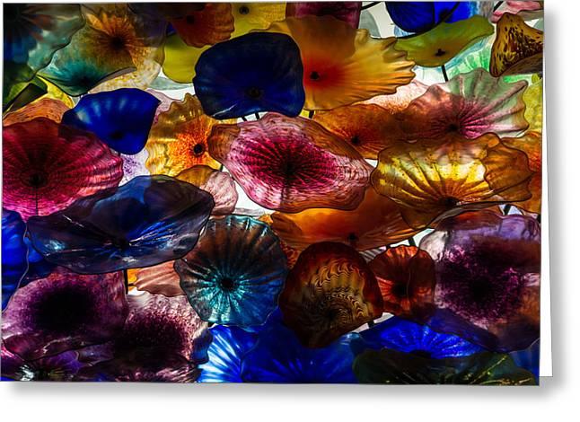 Sea Flowers And Mermaid Gardens - Take 2 - Horizontal Greeting Card by Georgia Mizuleva