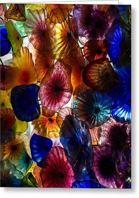 Sea Flowers And Mermaid Gardens - Take 2 - Vertical Greeting Card by Georgia Mizuleva