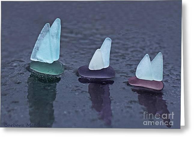 Sea Glass Flotilla Greeting Card