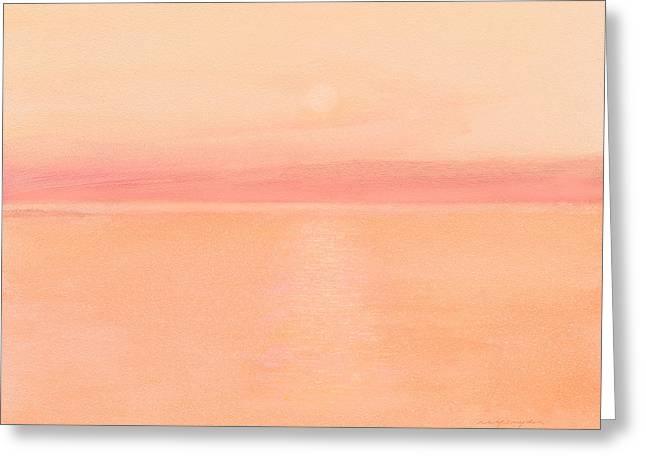 Sea Horizon Greeting Card