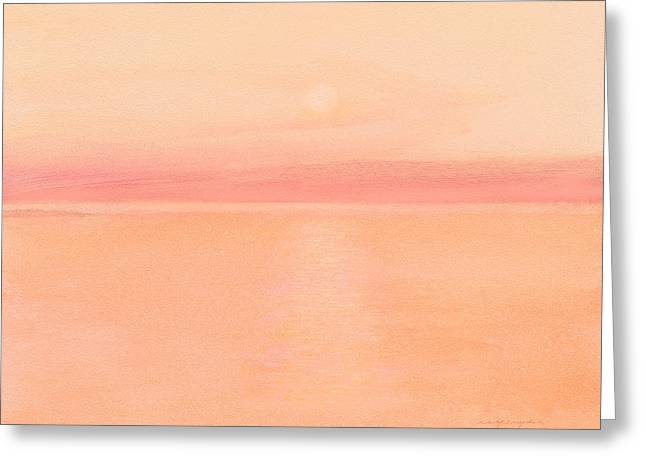 Sea Horizon Greeting Card by J Reifsnyder