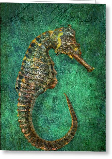 Sea Horse  Greeting Card