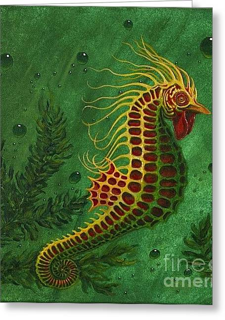Sea Horster Greeting Card by Fred-Christian Freer