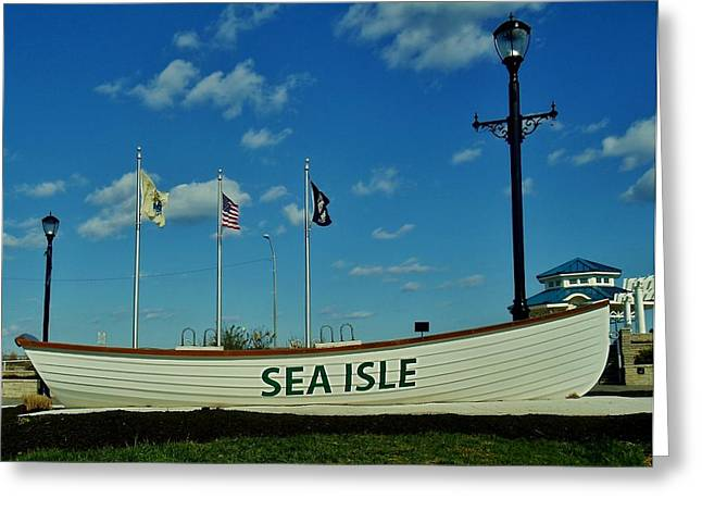 Sea Isle City Greeting Card