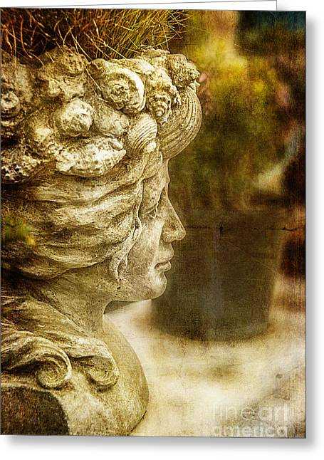 Sea Lady Greeting Card by Terry Rowe