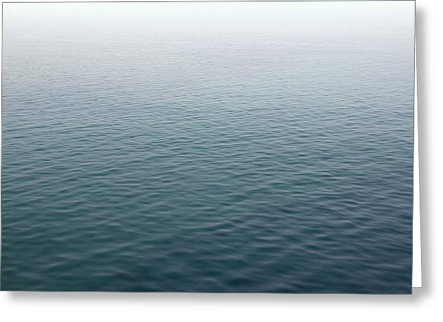 Greeting Card featuring the photograph Sea Mist by Jane McIlroy