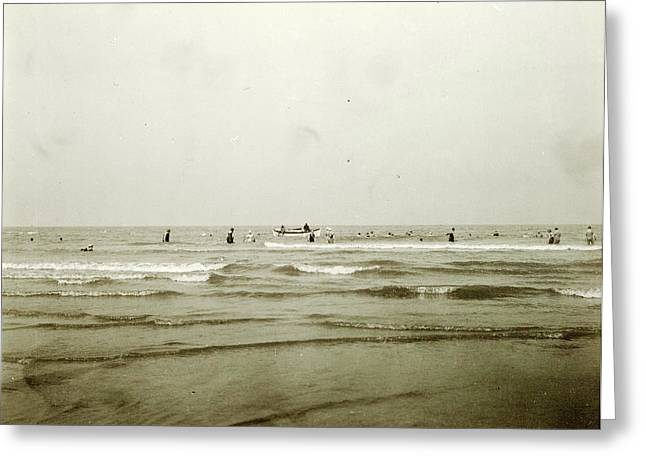 Sea North Sea, The Netherlands Or Germany Greeting Card