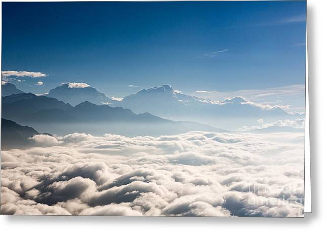 Sea Of Clouds Greeting Card