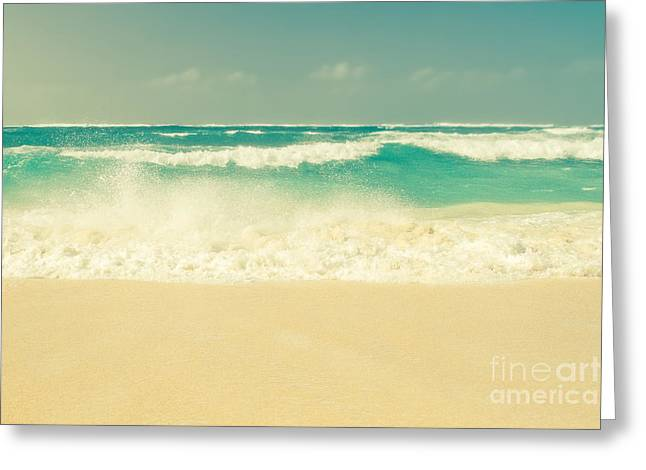 Sea Sand And Sun Greeting Card
