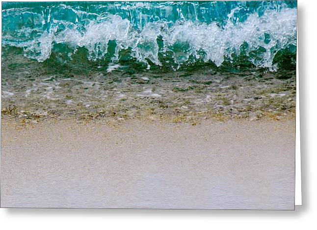 Sea Shore Colors Greeting Card