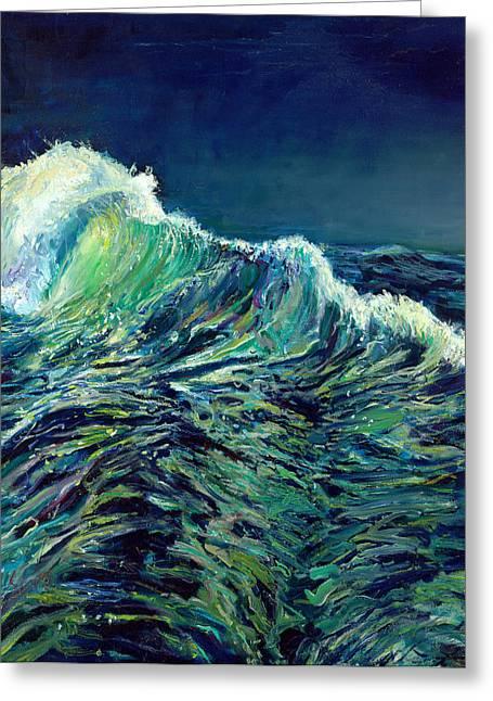 Sea Swells Greeting Card