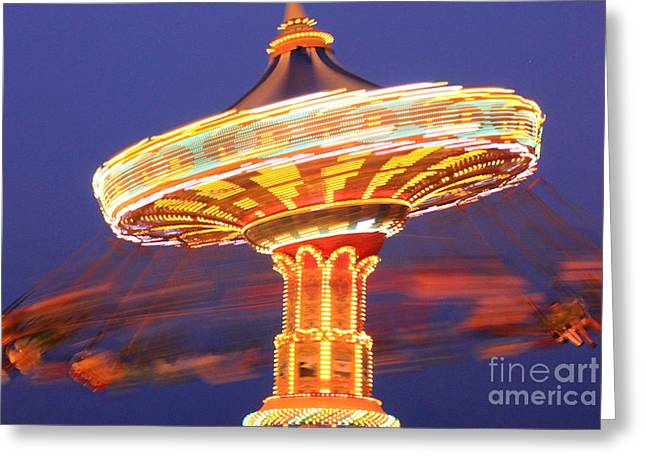 Sea Swings Greeting Card