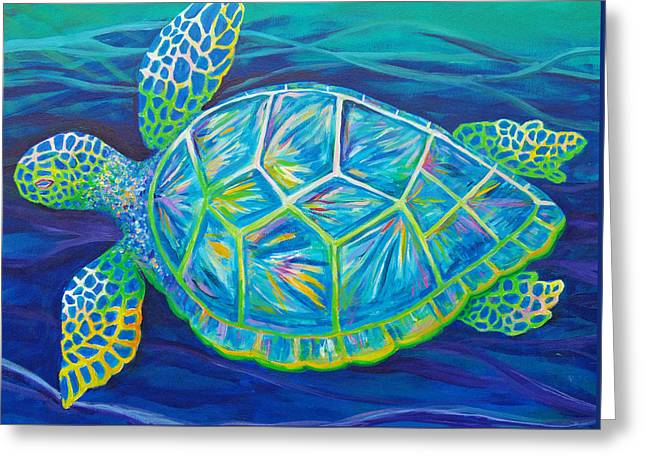 Sea Turtle I Greeting Card
