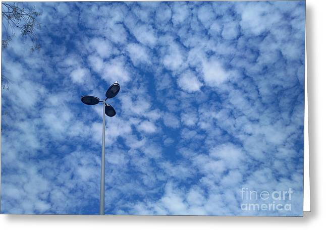 Seagull's Throne - Beautiful Clouds Greeting Card