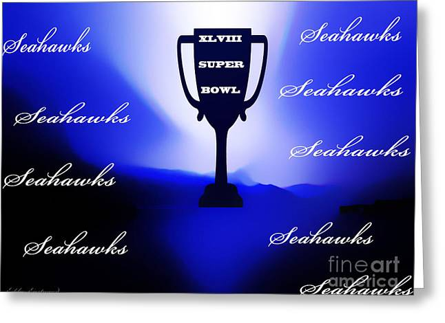 Seahawks Super Bowl Champions Greeting Card