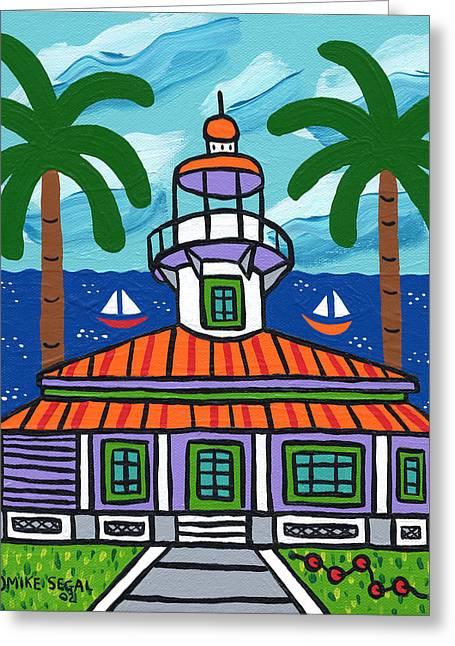 Seahorse Key Lighthouse Greeting Card