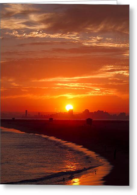 Seal Beach 7 Greeting Card