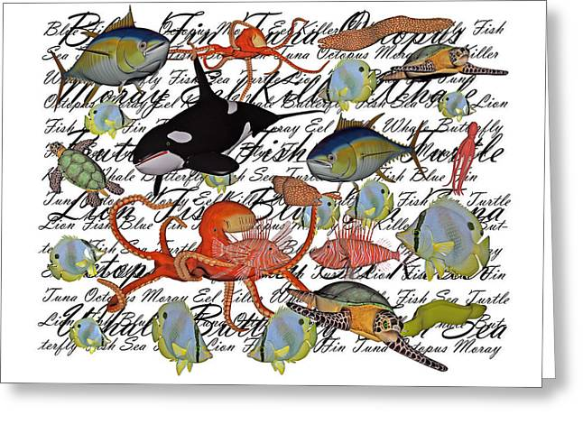 Sealife Dreamland IIi Greeting Card