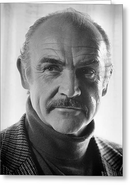 Sean Connery Greeting Card
