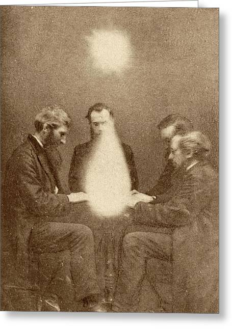Seance And Psychic Forces Greeting Card