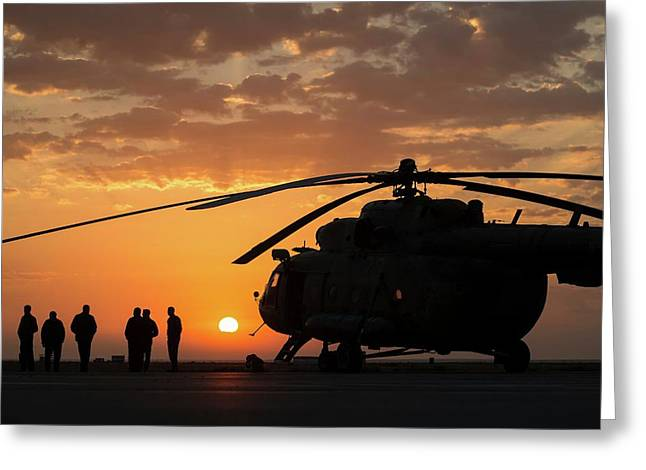 Search And Rescue Helicopter Greeting Card by Nasa/bill Ingalls
