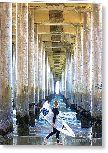 Greeting Card featuring the photograph Searching For Peace by Margie Amberge