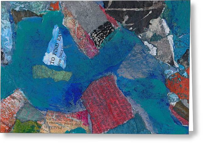 Greeting Card featuring the mixed media Searching For The Orient by Catherine Redmayne