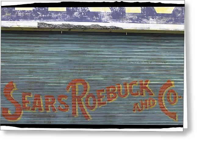 Sears Roebuck And Co. Greeting Card