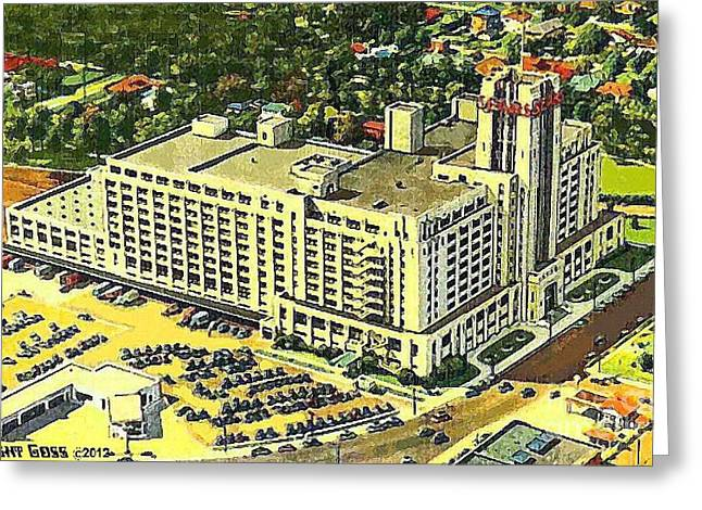 Sears Roebuck And Co. In Memphis Tn In 1941 Greeting Card