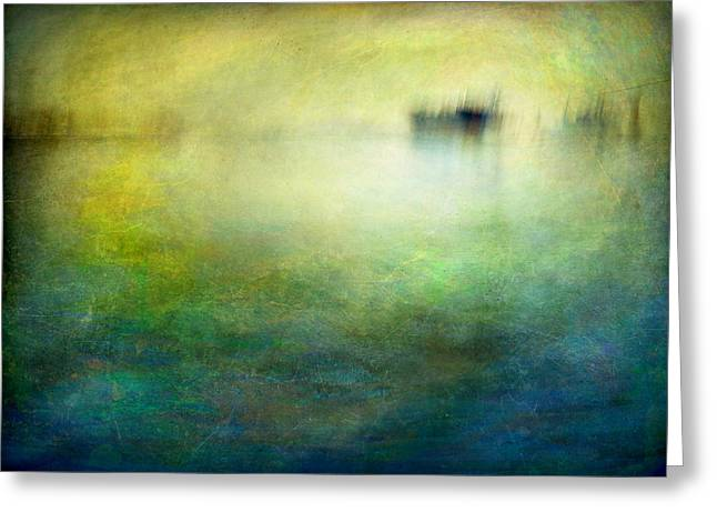 Seascape #19 -shipside- Greeting Card by Alfredo Gonzalez