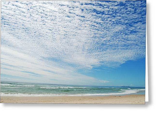 Greeting Card featuring the photograph Seascape 2 by Ankya Klay