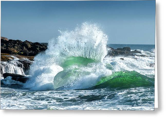 Seascape 3 Greeting Card by David Rothstein