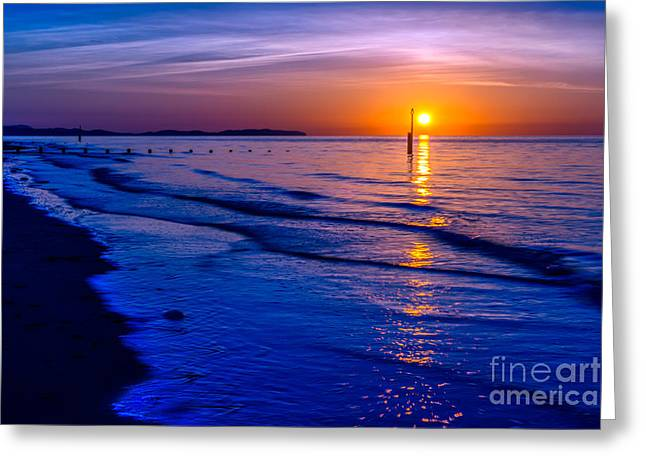Seascape Greeting Card by Adrian Evans