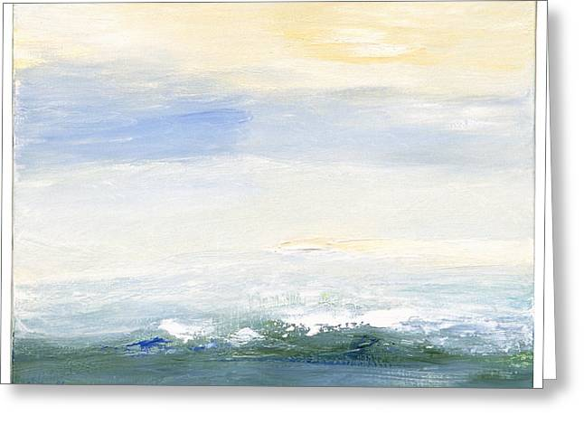 Seascape Izu Japan 1999 Greeting Card