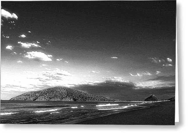 Seascape Northern Nsw Greeting Card