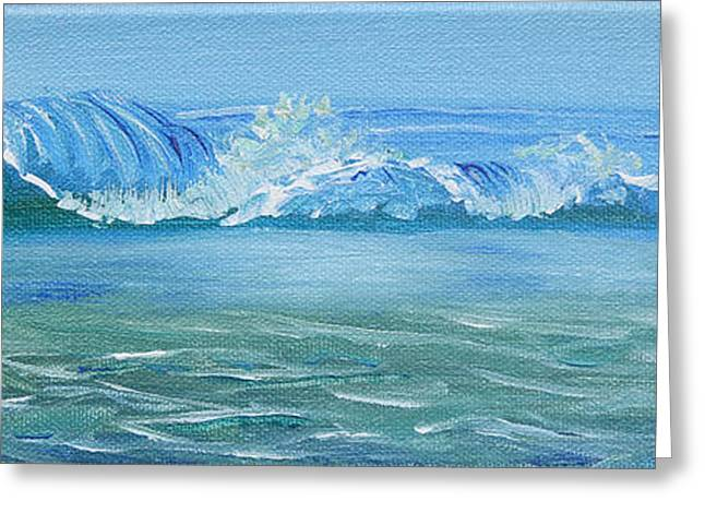 Seascape Wave IIi Greeting Card