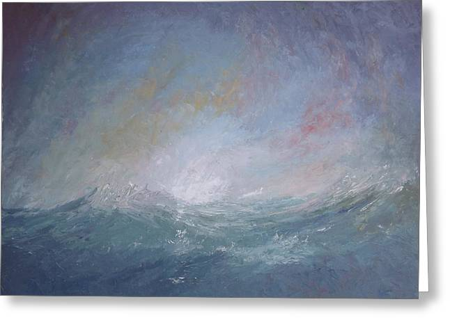 Seascape1 Greeting Card by Sean Conlon