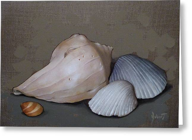 Seashells Greeting Card by Clinton Hobart