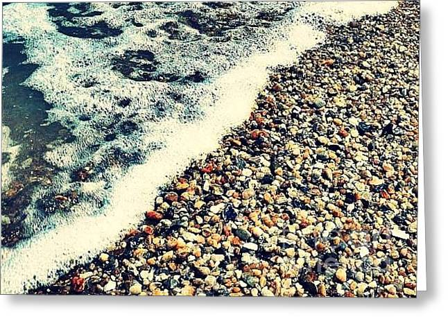 Seashore - Greeting Card Only Greeting Card by Scott Allison