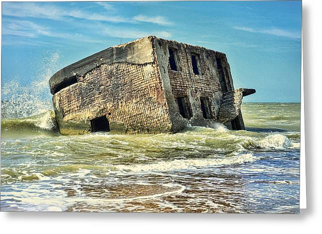 Seaside Northern Forts Greeting Card by Gynt