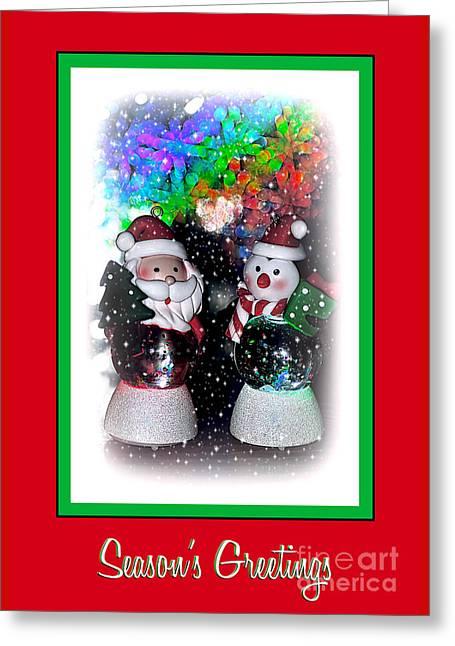 Season's Greetings By Kaye Menner Greeting Card by Kaye Menner