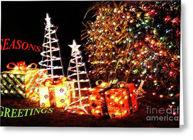 Greeting Card featuring the photograph Seasons Greetings Card by Gary Brandes