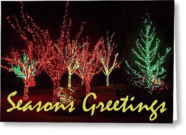 Seasons Greetings Greeting Card by Darren Robinson