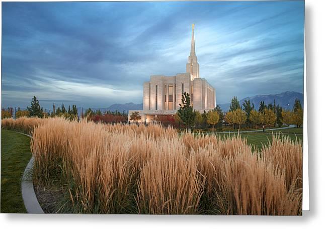 Seasons Of Faith Greeting Card