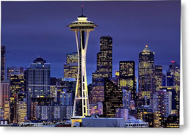 Seattle Skies Greeting Card