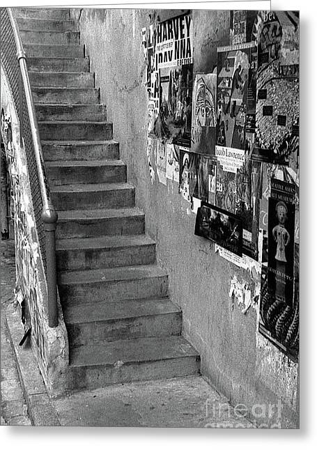 Seattle Stairs Greeting Card