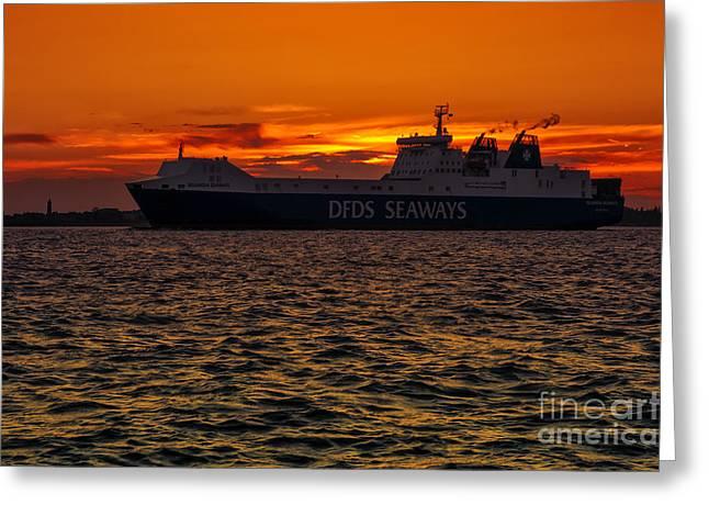 Seaways Greeting Card by Svetlana Sewell