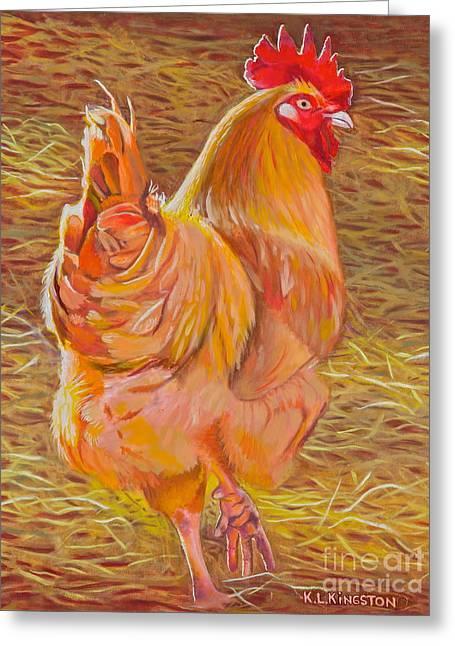 Sebastopol Rooster Greeting Card