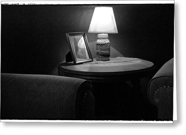 Secluded In Black And White Greeting Card by David Patterson