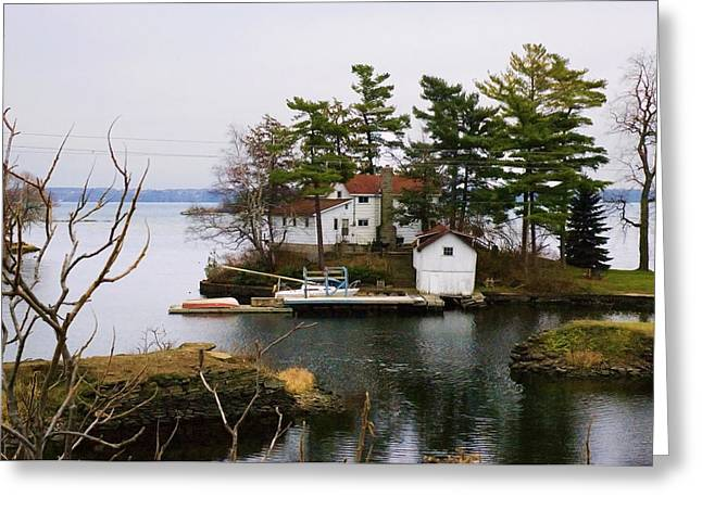 Seclusion On The Saint-laurent Greeting Card by Robert Culver